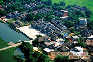 Nanjiang Scenic Area of Old Folk Houses