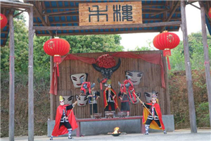 Traditional culture and customs along the Nanjiang Ancient Waterway