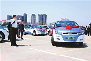 3,191 new e-taxis put into service in Shenzhen