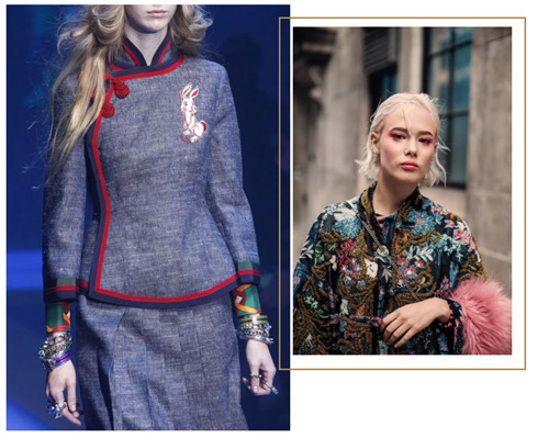 Complex embroidery, cheongsam, buckles... How does the traditional wind sweep the fashion circle?
