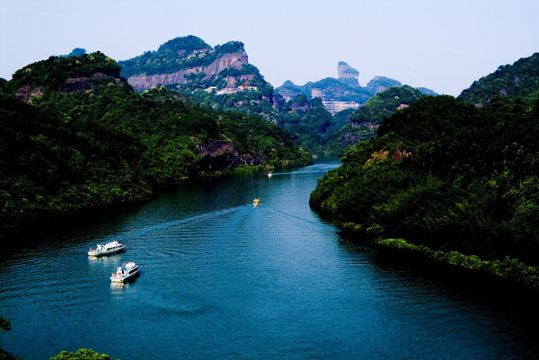 Danxia Mountain Scenic Area