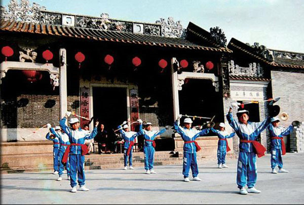 The Multi – Repetitious Gong – Drum Ensemble in Foshan