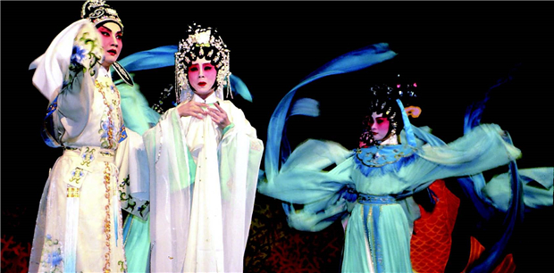 yue opera Yue opera - also called the shaoxing opera - is a newcomer among the chinese local operas it was originated in the beginning of the 1900s near shanghai in a place called shaoxing from local musical plays, which used only.